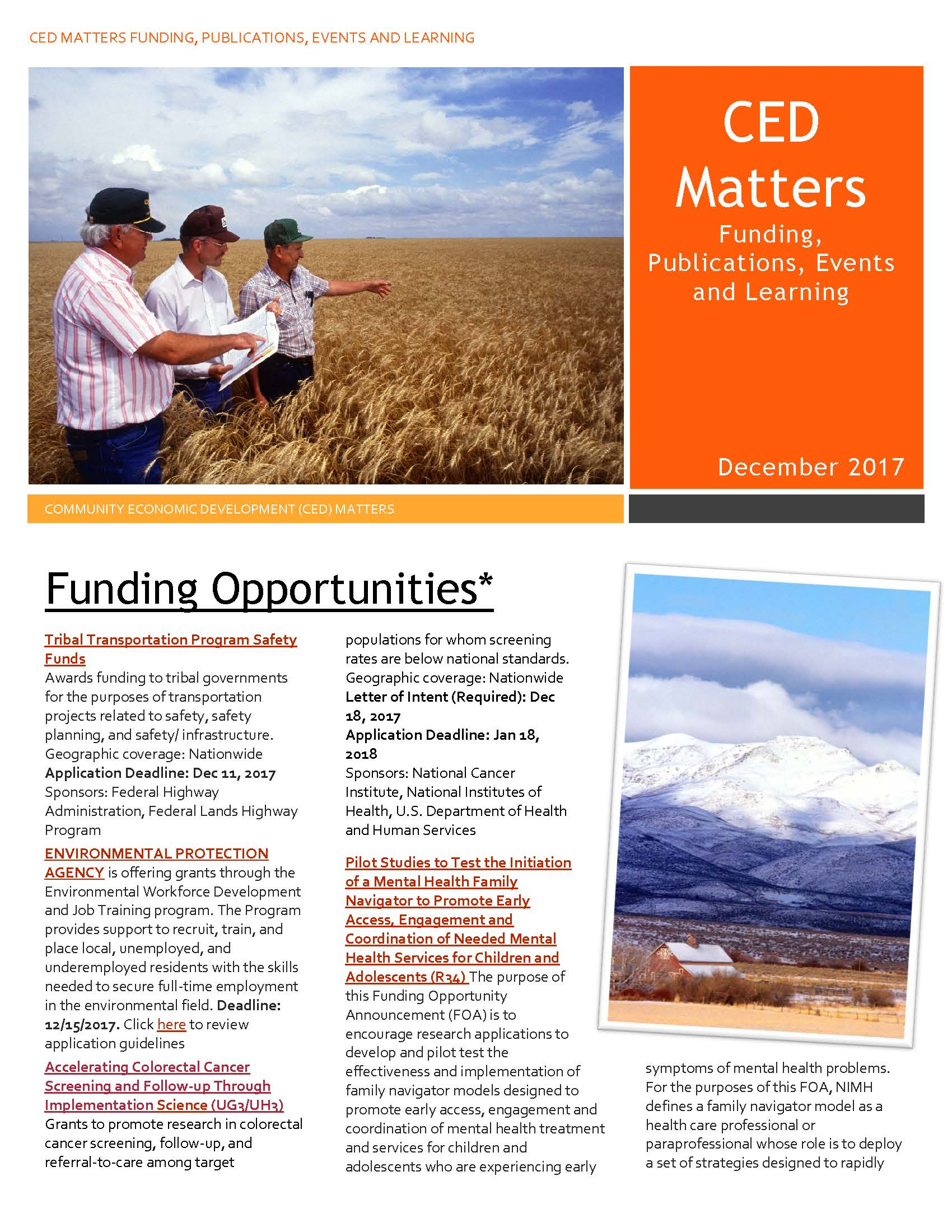 December CED Matters Page 1