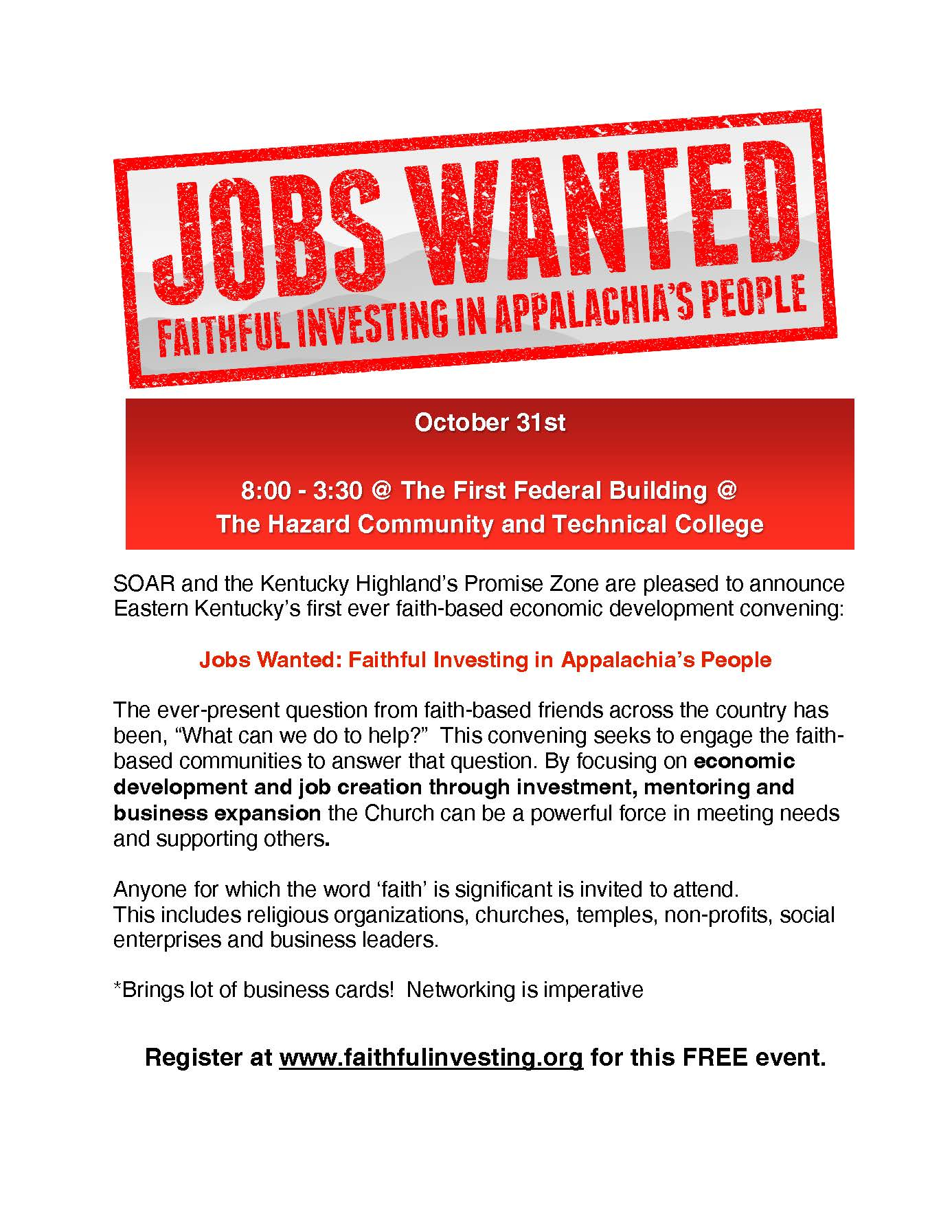 Jobs Wanted Flyer